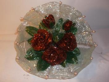 цветы из бисера - Страница 2 0343671001388155091