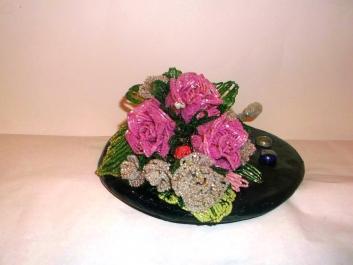 цветы из бисера - Страница 2 0746447001388155090