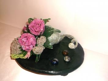 цветы из бисера - Страница 2 0772942001388155089