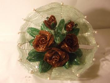 цветы из бисера - Страница 2 0845850001388155091