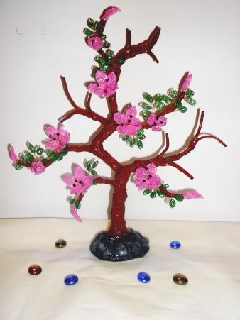 цветы из бисера - Страница 2 0637746001388995055