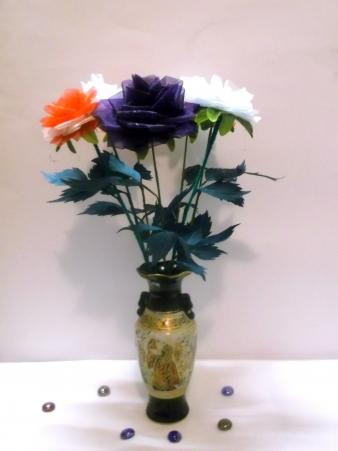 цветы из бисера - Страница 2 0748894001388995057