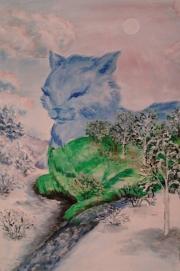 Кошки из бамбука и акрила - Страница 2 0325587001391898470