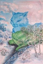 Кошки из бамбука и акрила - Страница 2 0538167001391971862