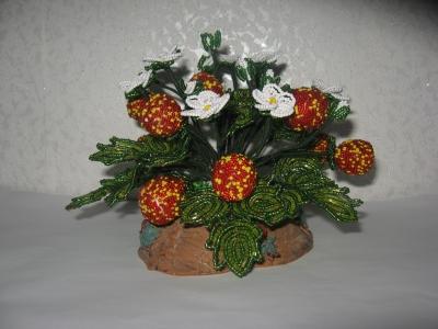 цветы из бисера - Страница 7 0312983001394446350