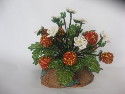 цветы из бисера - Страница 7 0645034001394446350