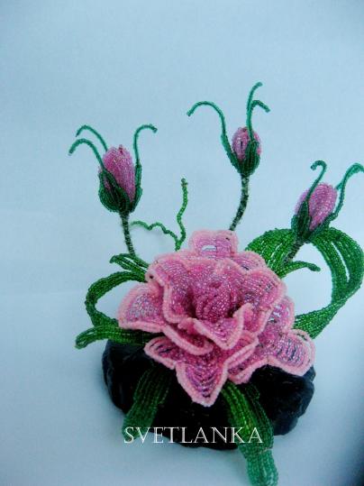 цветы из бисера - Страница 7 0379410001394639091