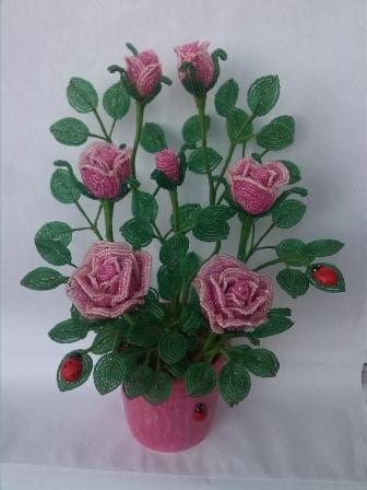 цветы из бисера - Страница 7 0254221001394894936