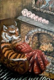 Кошки из бамбука и акрила - Страница 3 0105166001404696579