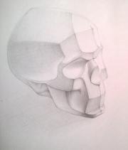 Рисуем обрубовку черепа 0427614001473252734