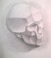 Рисуем обрубовку черепа 0545809001473252816