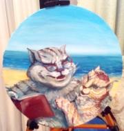 Кошки из бамбука и акрила - Страница 16 0449565001519716295