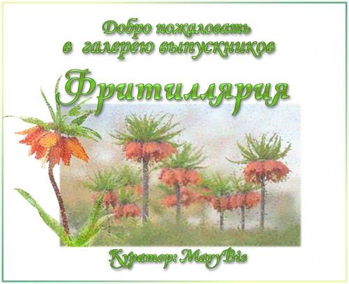 Галерея выпускников Фритиллярия 0101745001592069958