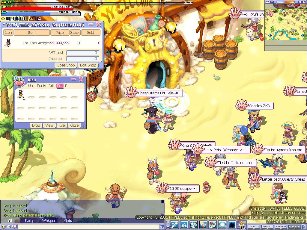 Trickster Online: Malandros! Trickster02