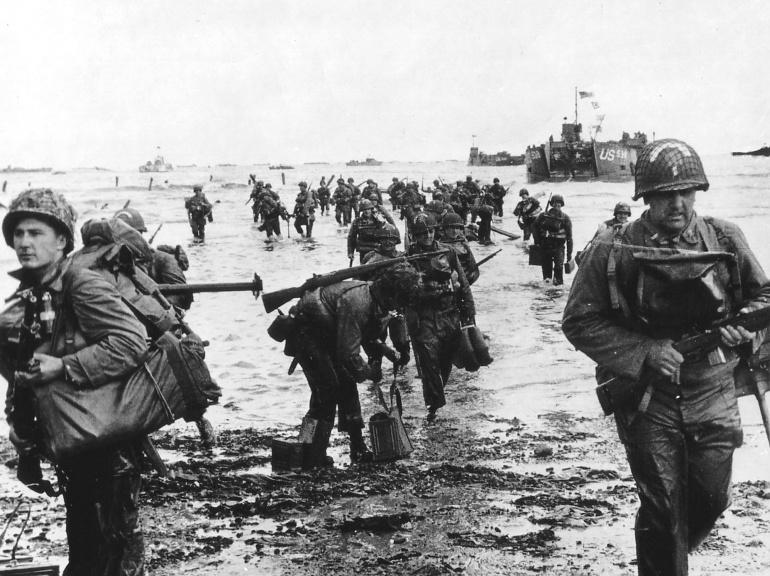 les plages de Normandie avant et maintenant 122