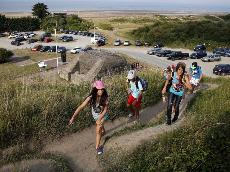les plages de Normandie avant et maintenant 232