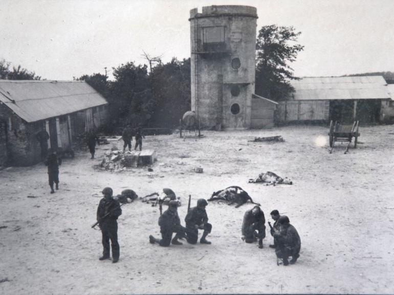 les plages de Normandie avant et maintenant 262