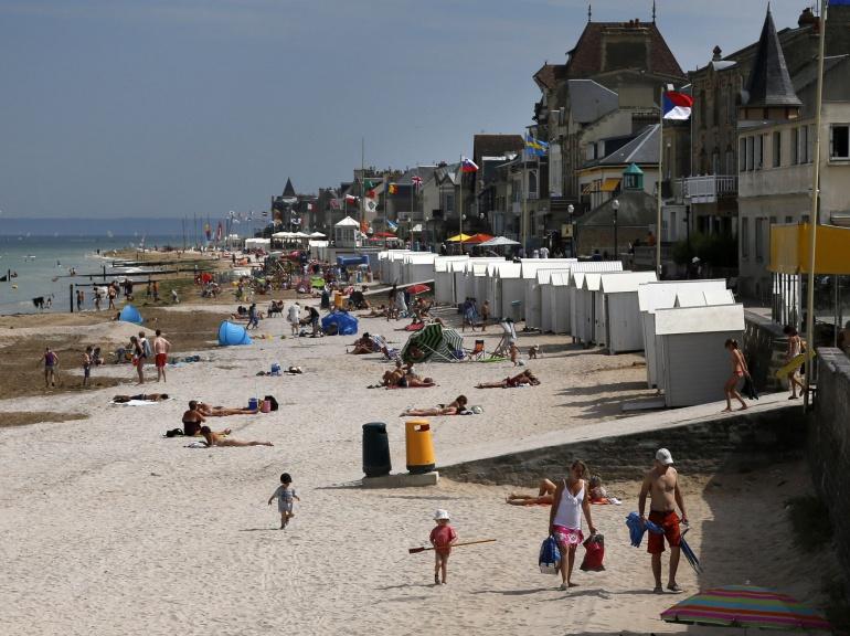 les plages de Normandie avant et maintenant 351
