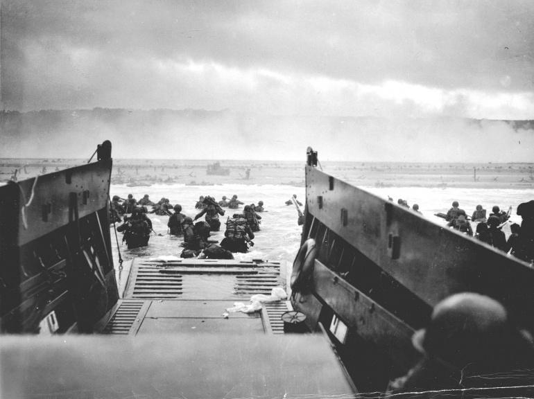 les plages de Normandie avant et maintenant 63