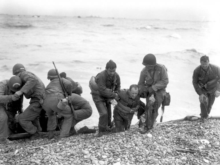 les plages de Normandie avant et maintenant 83