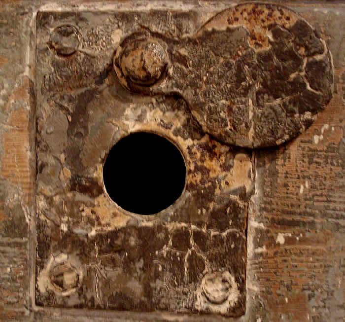 Trou de serrure Peep_hole_cell_door_bodmin_jail