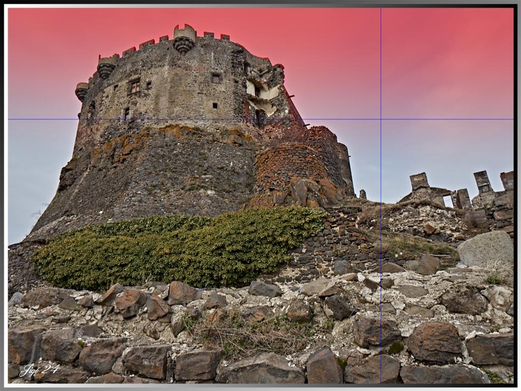 CaptureOnePro - Genèse d'une photo : le château de Murol en Auvergne 8