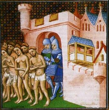 Croisade des Albigeois - siège de Lavaur en 1211 11602