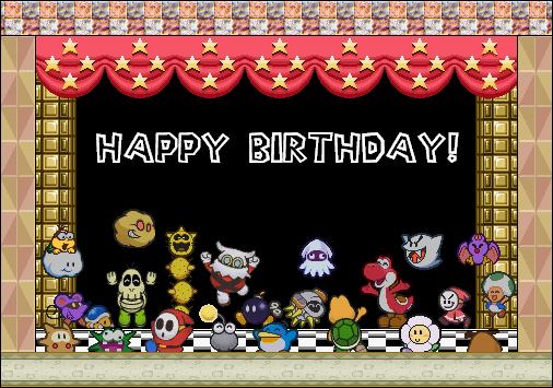 topic du souhaitage de bon anniversaire - Page 7 Happybirthday