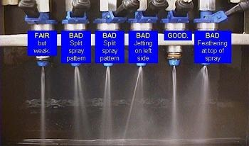 OEM Fuel Injector Spray Pattern 274049843