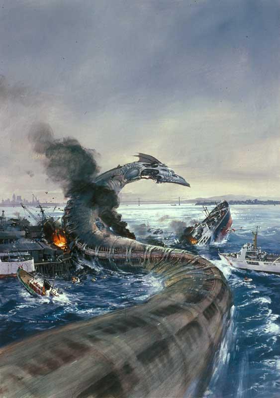 [WoA] Les Atlantes Rebelles attaquent Coast City ! Sea-Monster