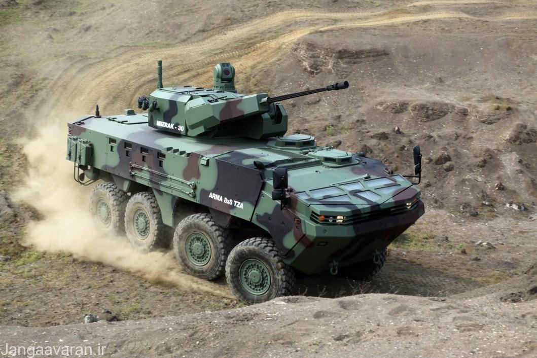 نقاش  تطوير القوات المسلحة التونسية  Otokar-Arma