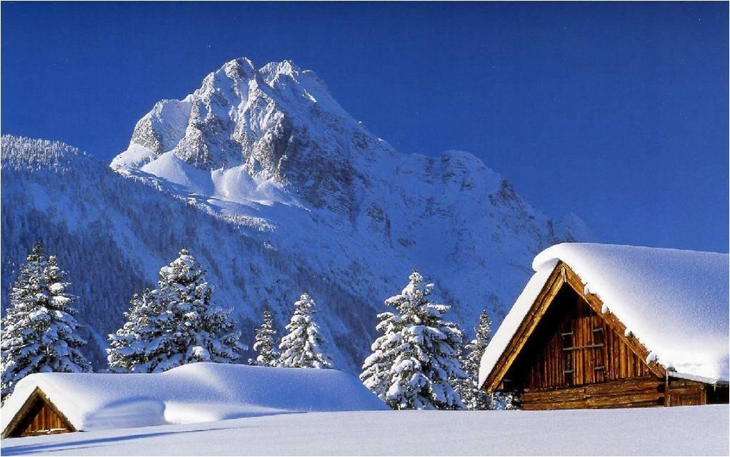La neige en montagne ... 2q0de7t1