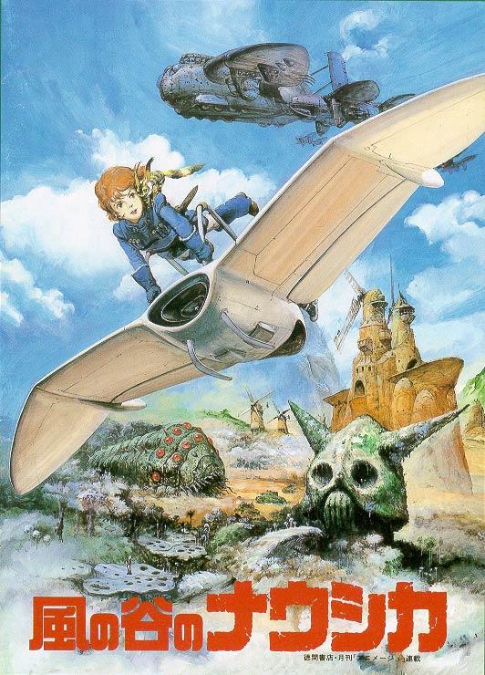 10 họa sĩ truyện tranh làm thay đổi lịch sử truyện tranh Nhật Bản Nausicaa