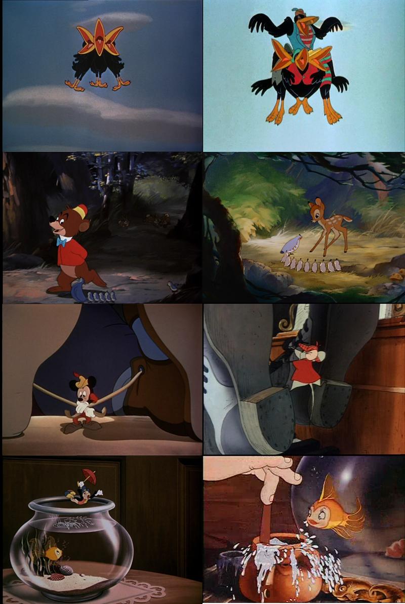 Similitudes et clins d'œil dans les films Disney ! - Page 4 Coquin