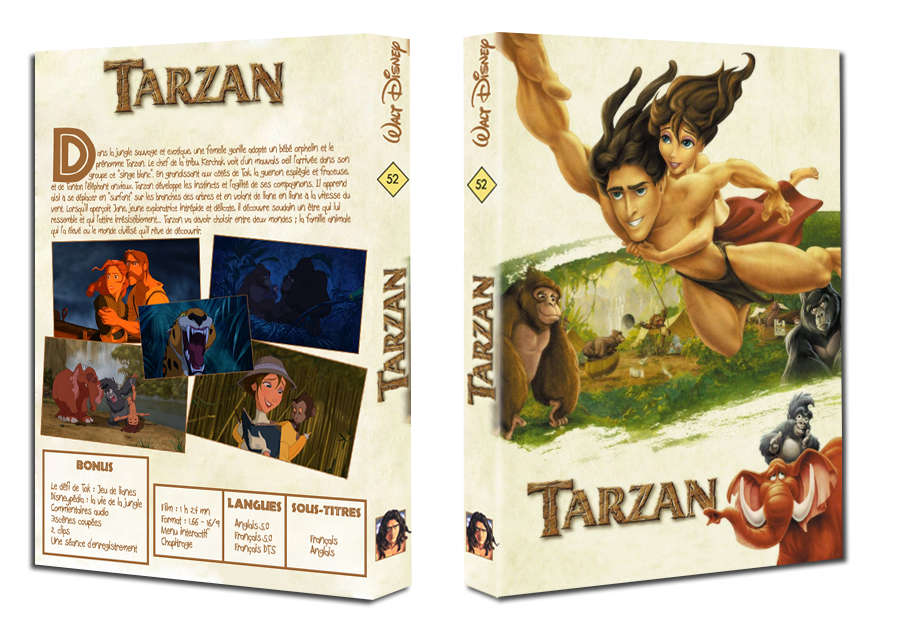 "Concours fan cover (""Nettoyé"") - Page 2 Tarzan"