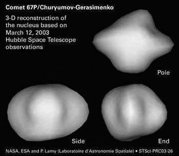 Rosetta : réveil et approche de 67P/Churyumov-Gerasimenko - Page 5 Churyumov-gerasimenko