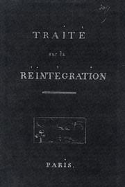 L'anéantissement de « la chair de corruption » et l'accès à l'état céleste selon Louis-Claude de Saint Martin 2815830244
