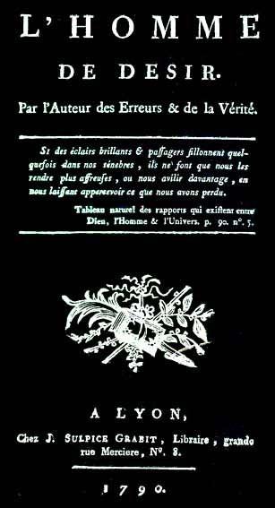 L'anéantissement de « la chair de corruption » et l'accès à l'état céleste selon Louis-Claude de Saint Martin 3626227986