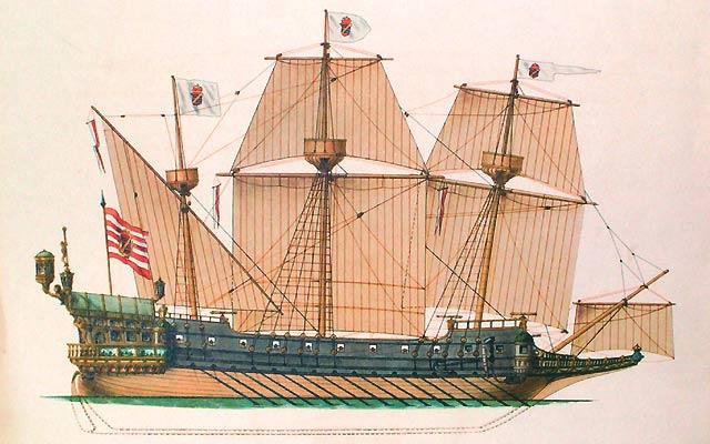 HELLER Collection vaisseaux Galion
