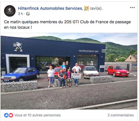 [68] Les GTI sur la route des vins - 24 juin 2018 Hilten