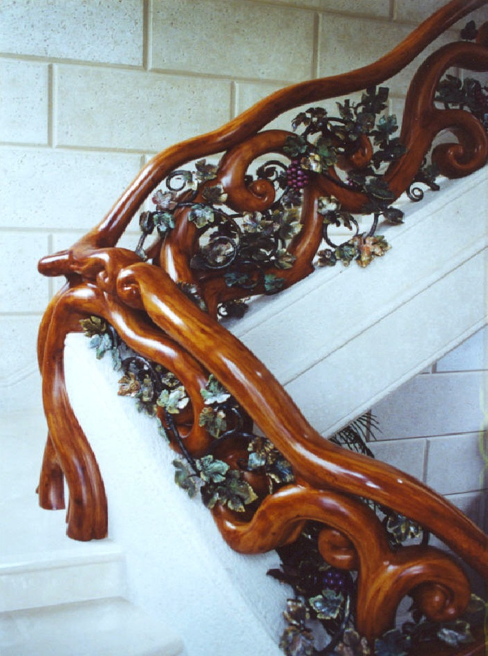 Arte decorativo. Jeffersonwoodworking-stairs-5