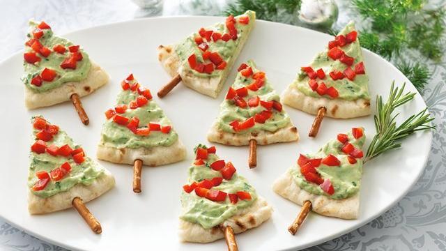 Repas de Noël  Mini-pizza-aperitif