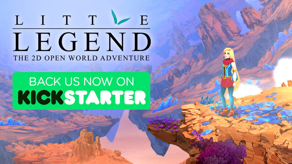 Little Legend - L'open world 2D en ce moment sur Kickstarter ! LittleLegend_kickstarter