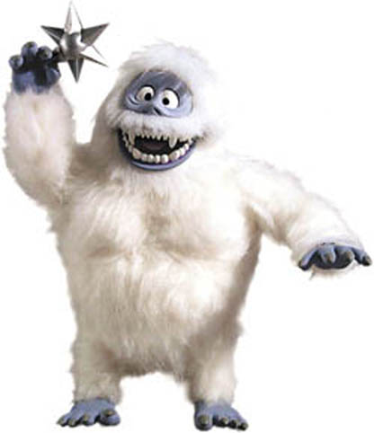 ABOMINABLE SNOWMAN!  Abominable-snowman