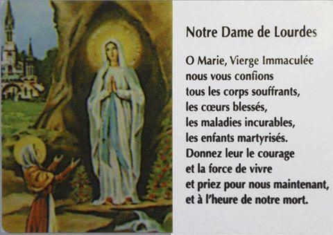 """Déposez ici vos intentions de Prières à """"La Grotte de Lourdes"""" ! - Page 31 LourdesND"""