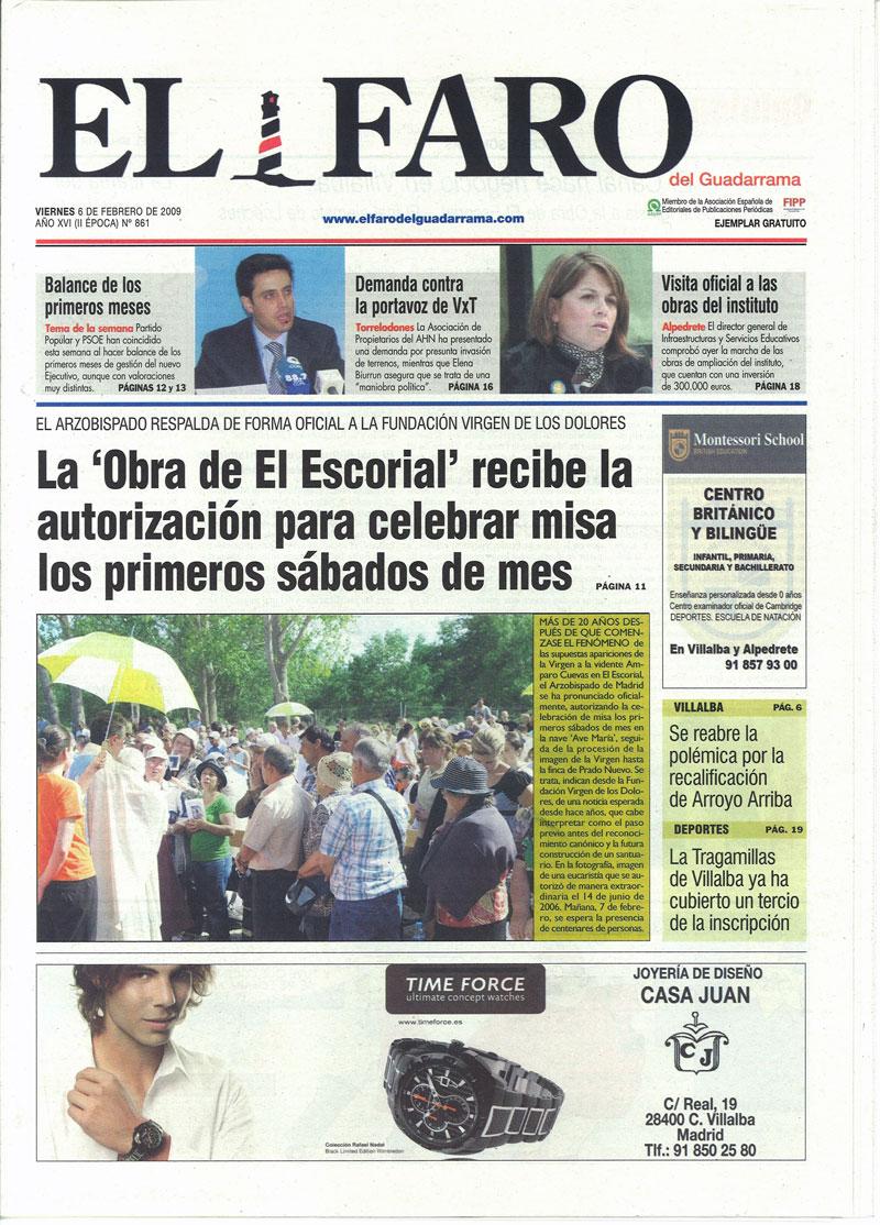 L'Escorial, autorisation de culte depuis Février 2009 Apparitions_escorial_autorisation_messe_1