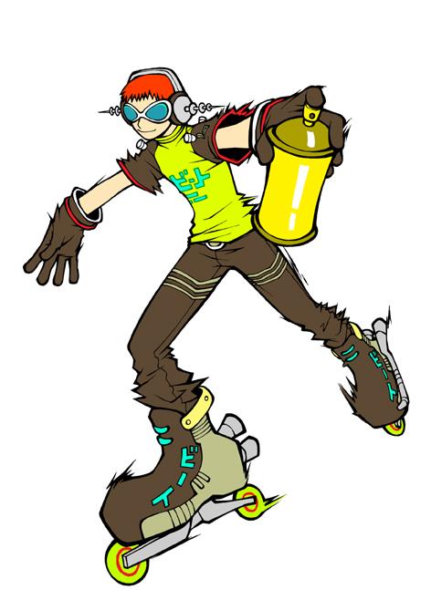 Votre personnage de jeu préféré Beat-jet-set-radio1