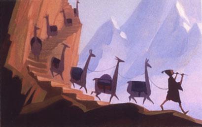 Kuzco, l'Empereur Mégalo [Walt Disney -2001] - Page 6 Pasha-llamas