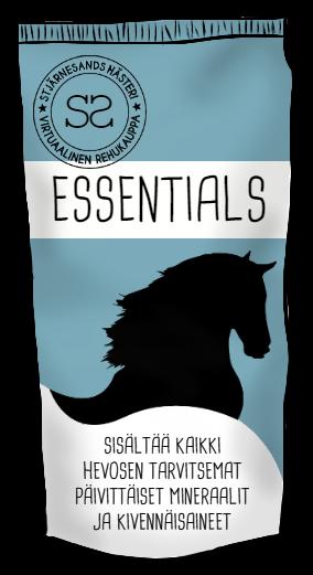 Zelian ruokinta Essentials-kivennainen