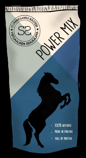 Zelian ruokinta Powermix